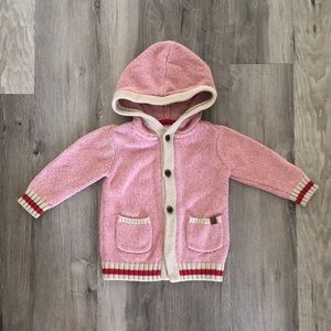 Pink Roots Cabin Sweater for Girls Size 18-24 Months